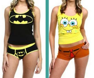 Superhero Bra and Panty Set