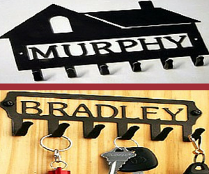 Personalized Key Holders for the Home