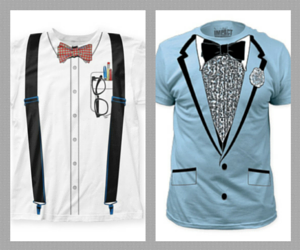 Novelty Nerd and Bowtie T-shirts