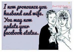 wedding-facebook-status